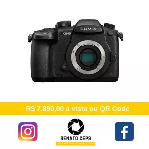 Panasonic lumix gh5 corpo 4k - com recibo