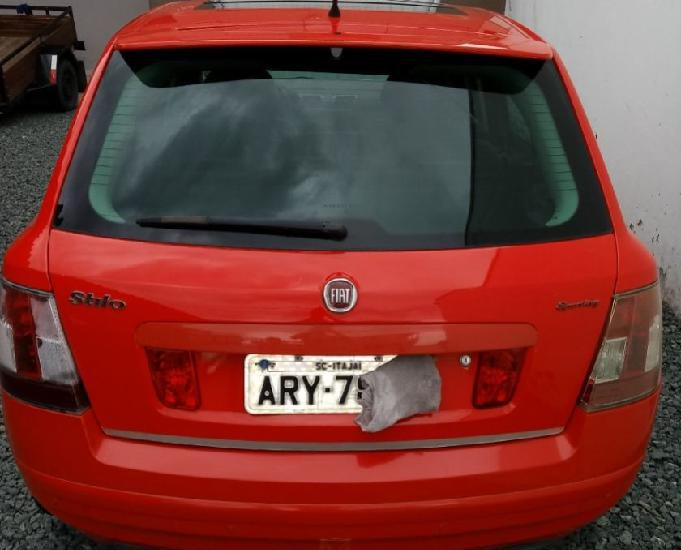 Fiat stilo sporting dualogic 2010 com teto solar