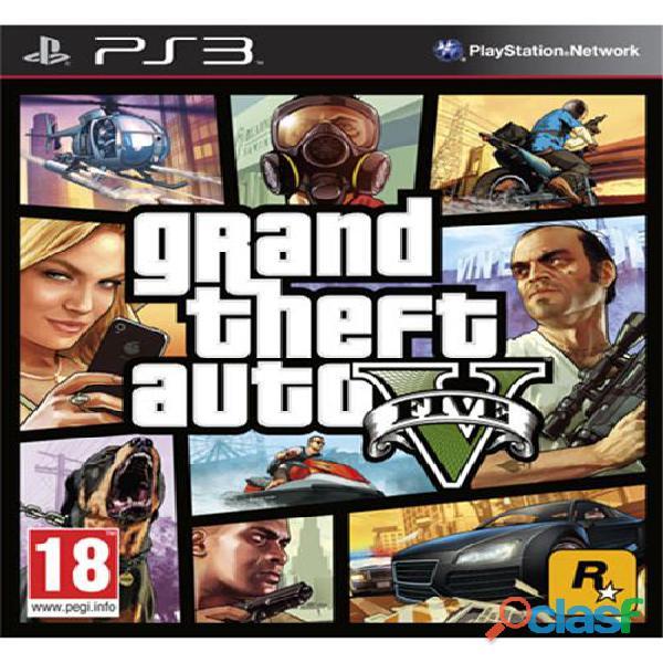 Grand Theft Auto V Ps3 Midia Digital   Gta 5 Playstation 3.