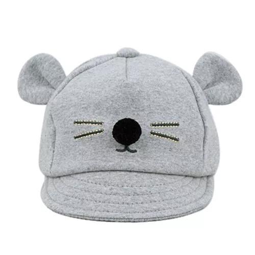 Boné infantil de bebê chapéu criança gatinho orelha