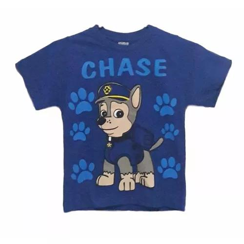 Kit 5 camisetas infantil patrulha canina dia das crianças