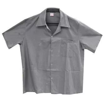Kit c/24 jalecos uniformes profissionais pra mecânico cinza
