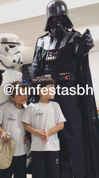 Personagem star wars para festa infantil bh e regiao
