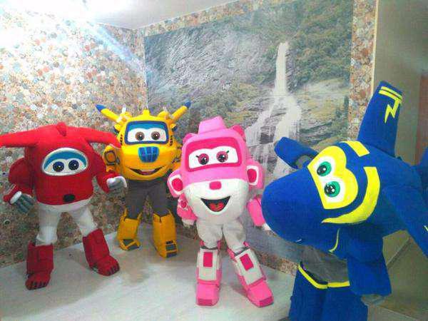 Personagem super wings para festa infantil bh e regiao