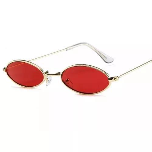 Culos sol oval pequeno trap hype retro vermelho amarelo