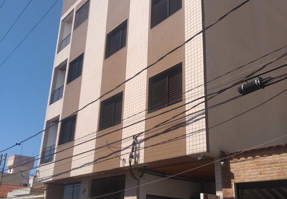 Apto scs - bairro santa maria,76m2, móveis planejados, 3