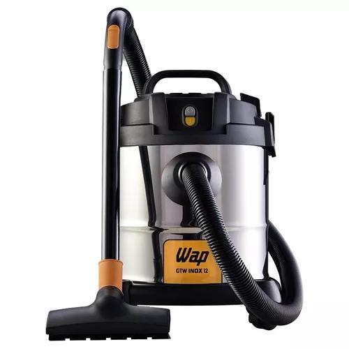 Aspirador de pó e água inox wap gtw inox 12 1400w