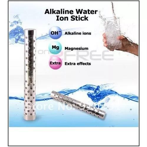 Bastão ionizador e alcalinizante de água - kit 2 pç