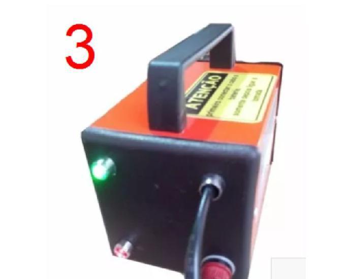 Carregador bateria 12v 10a com led indicador