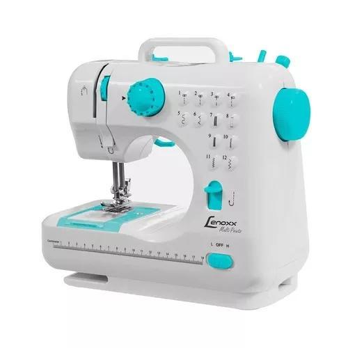 Máquina costura portátil lenoxx multi points psm101 bivolt