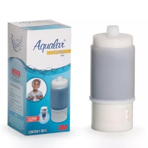 Refil para filtro água ap230 branco 3m aqualar