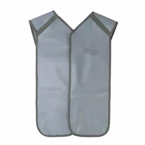 Avental chumbo panorâmico proteção plumblífero azul