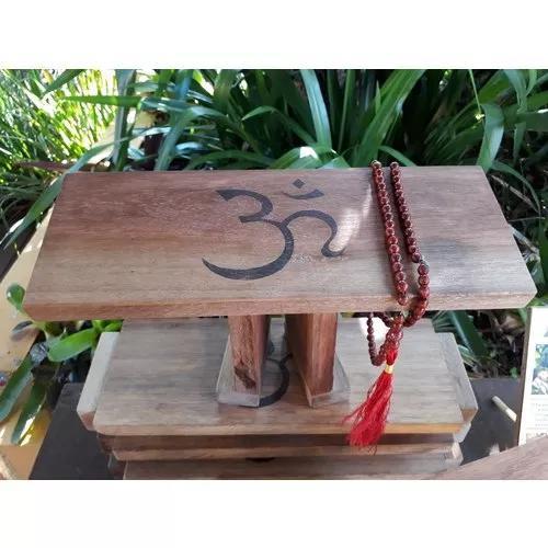 Banco meditação, oração, seiza madeira de lei