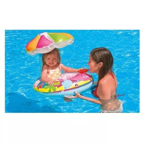 Boia bote bebê cobertura fralda infantil inflável