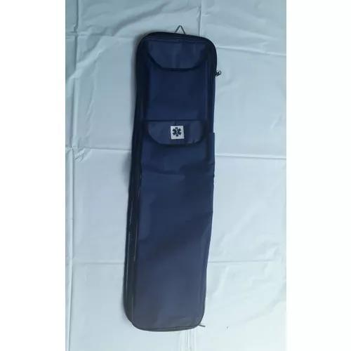 Bolsa porta talas e colares - azul marinho