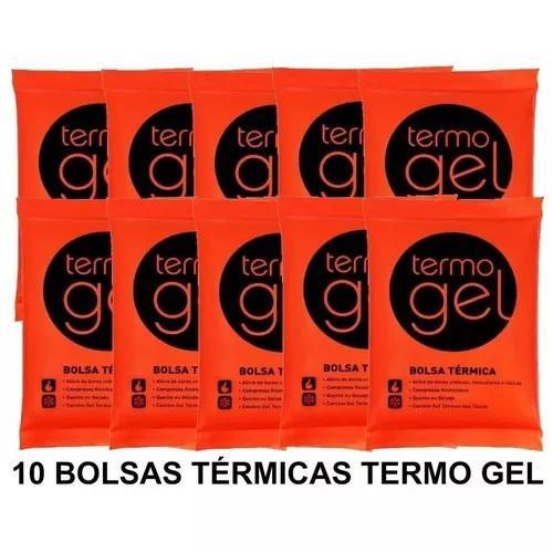 Bolsa térmica gel quente ou fria pequena kit com 10