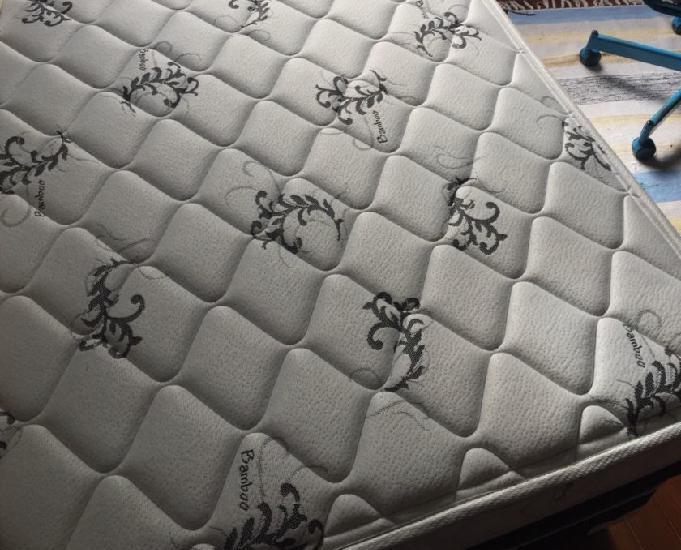 Colchão + cama box casal copel
