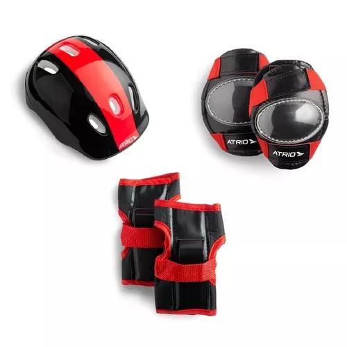Kit infantil de proteção p/ esportes radicais unissex-