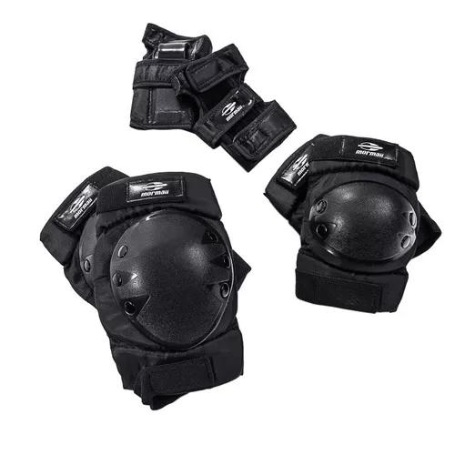 Kit proteção joelho, punho e cotovelos g - mormaii -