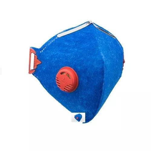 Respirador c/ válvula descartável pff-1 prosafety c/ 100