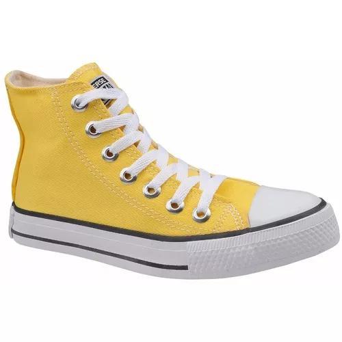 cf83b01def7 Tênis all star chuck taylor cano alto amarelo