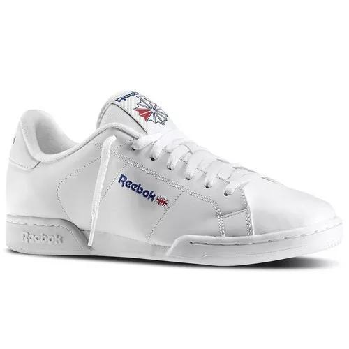 Tênis reebok npc 2 syn low white classic lifestyle