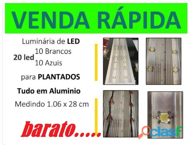 Luminário de led para aquarios plantados