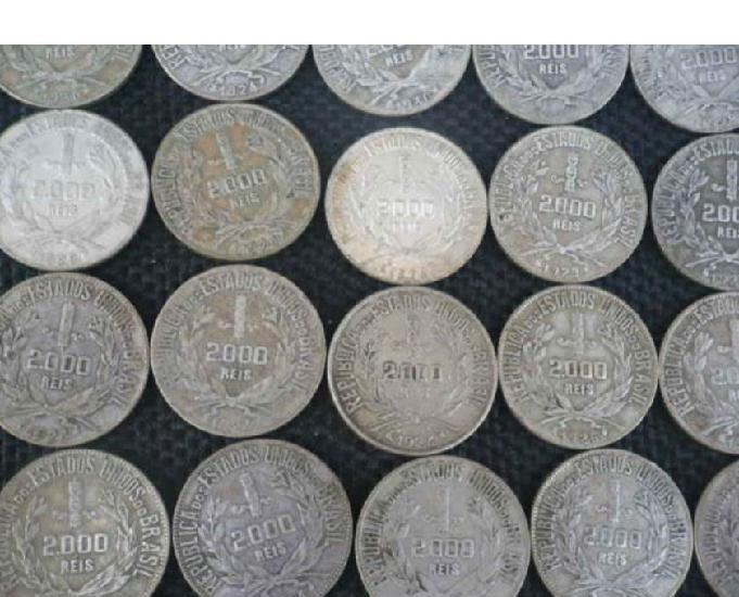 30 kg de moedas antigas pratas, cobre, bronze, níquel,