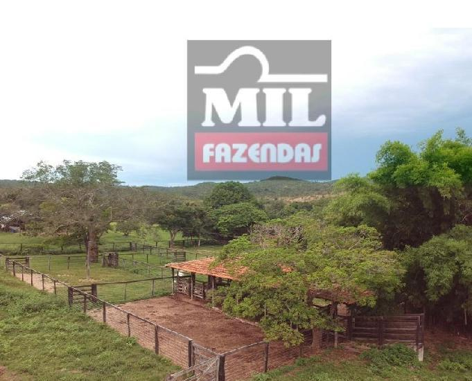 Troca 90% fazenda 309 alqueires município de uruaçu