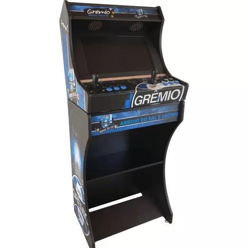 Arcade bartop fliperama de 17 mil jogos monitor 19 wecad