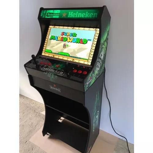 Arcade fliperama 17 mil jogos + ficheiro + monitor 24 wecad