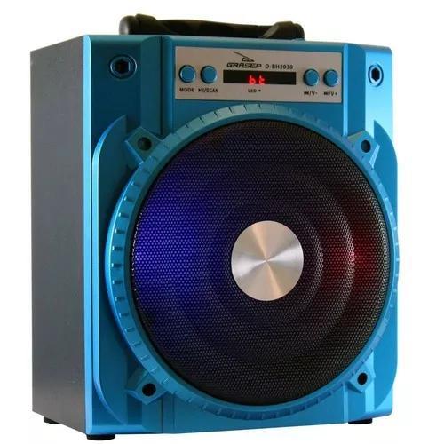 Caixa de som bluetooth speaker fm sd usb portátil d-bh