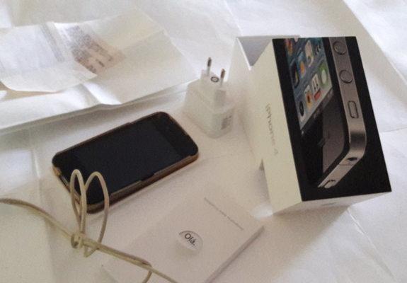 Celular iphone 4 8 gb usado em ótimo estado