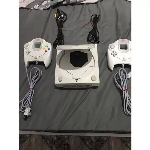 Console dreamcast japonês 2 controles s