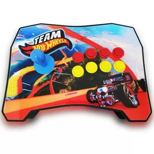 Controle arcade fliperama sensor pc/ps4/ps3 raspberry basic