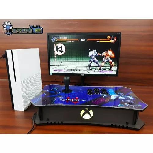 Controle arcade xbox one,x,pc, sensor òptico