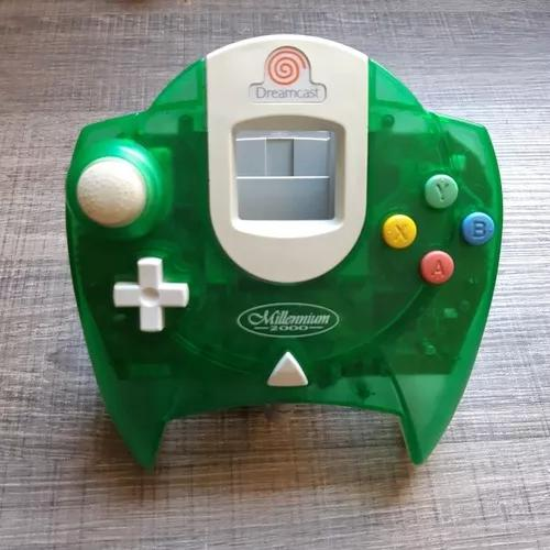 Controle original millennium lime green dreamcast ref.6987