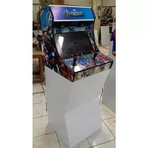 Fliperama bartop 22 com 15000 jogos + brinde fliperx