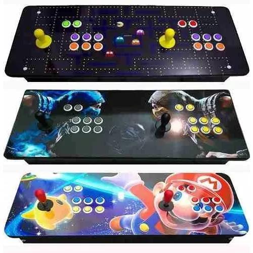 Fliperama portatil arcade 9000 jogos p/2