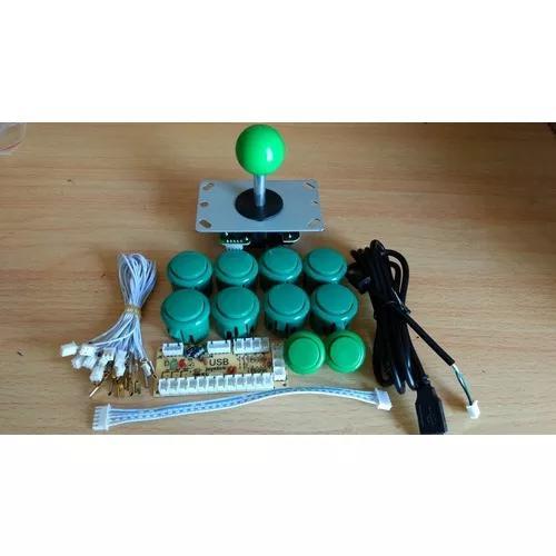 Kit arcade genérico sanwa para pc,ps3,ps4 promoção!!