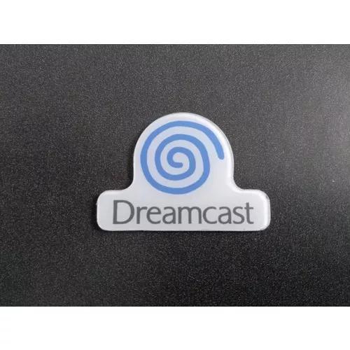 Logo azul console, tampa dreamcast tec toy nacional - usado