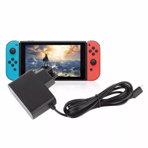 Nintendo switch fonte, carregador 100-240v bivolt.