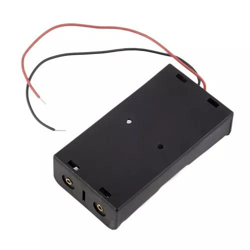Plástico bateria armazenamento caso durável armazenamento