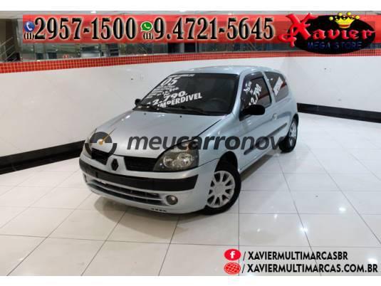 Renault clio authentique 1.0 8v 3p 2004/2005