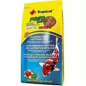 Ração para carpas tropical pond sticks mixed 1600gr
