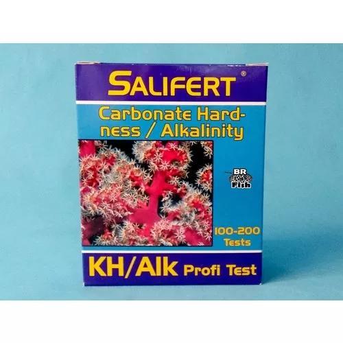 Teste kh salifert alkalinidade aquario marinho validade 2023