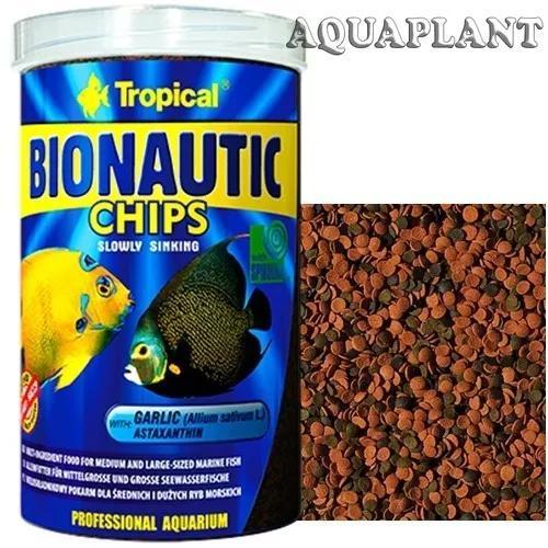 Tropical bionautic chips 520g - ração peixes marinhos