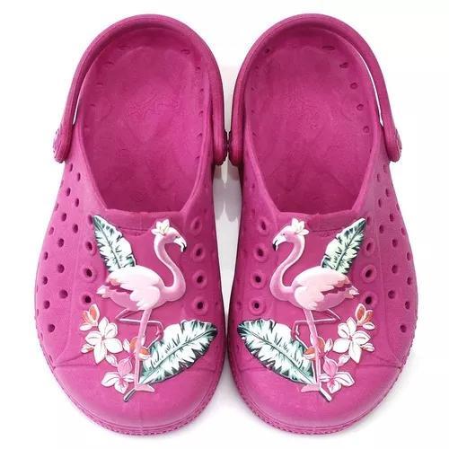 ffa3440e23 Babuche plugt joy kids flamingo infantil - pink