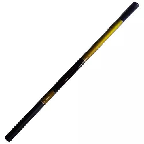 1 vara de mão telescópica 4,50m 8 lbs tilápia pesqueiro