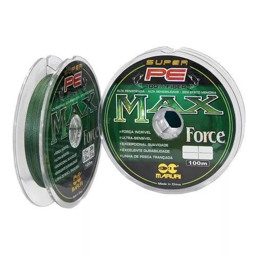 5 Linha Multifilamento Max Force Maruri 500 Metros Total
